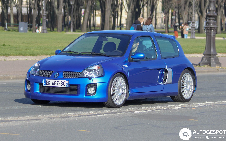 Renault Clio V6 Phase II