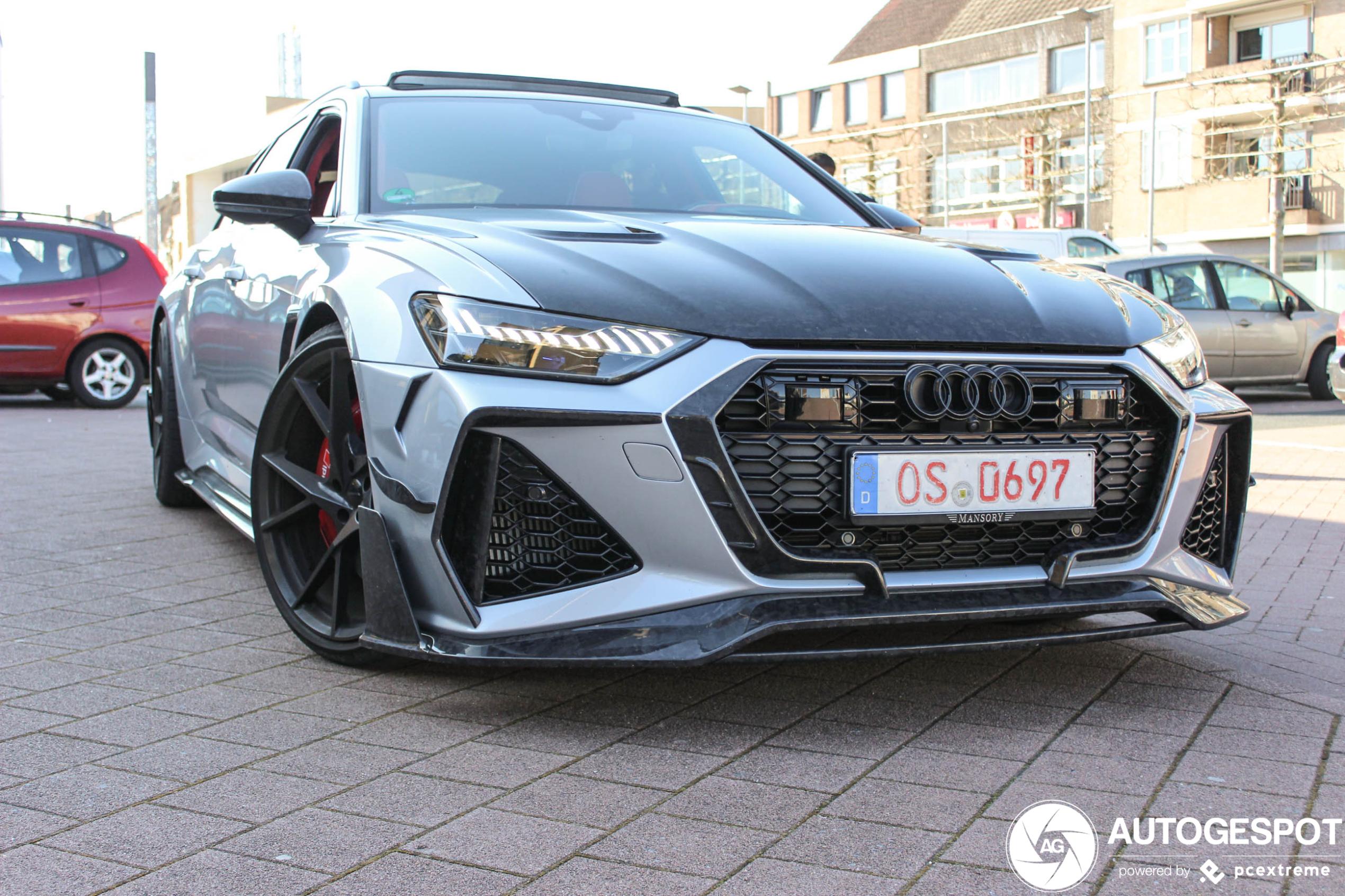 Audi RS6 Avant door Mansory kan er mee door!