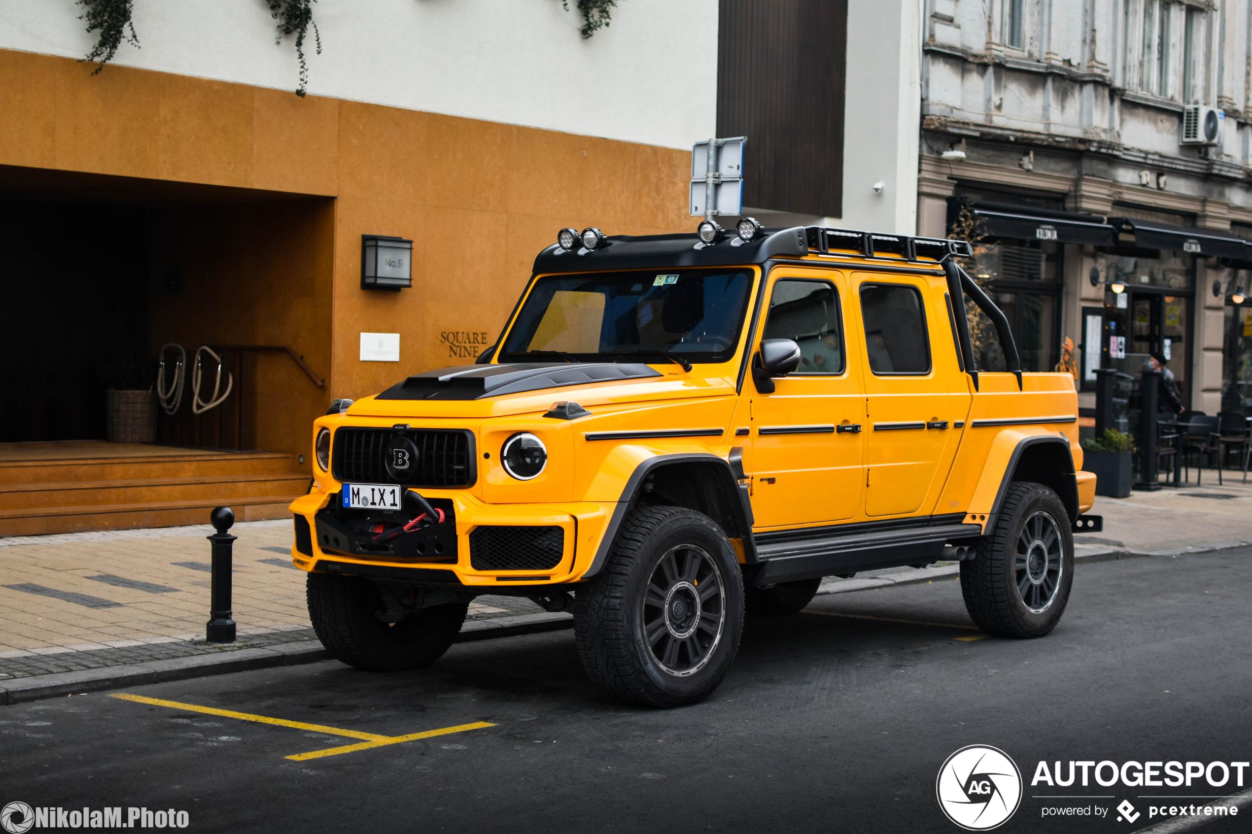 Mercedes-AMGBrabus G 700 XLP Adventure