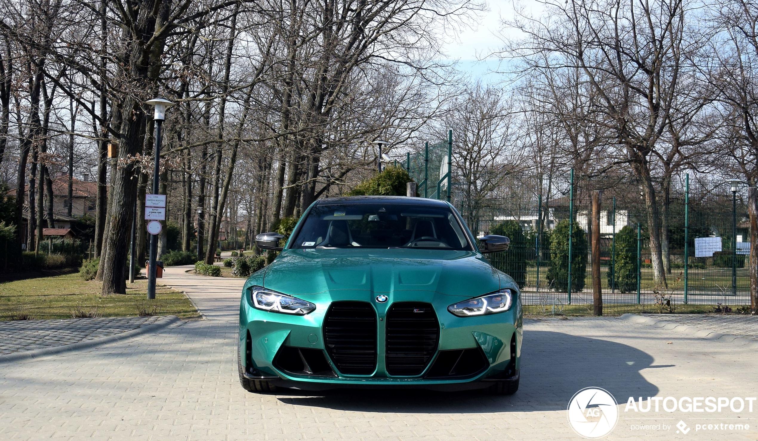 De BMW M3 G80 Competition kennen we nog maar in één kleur