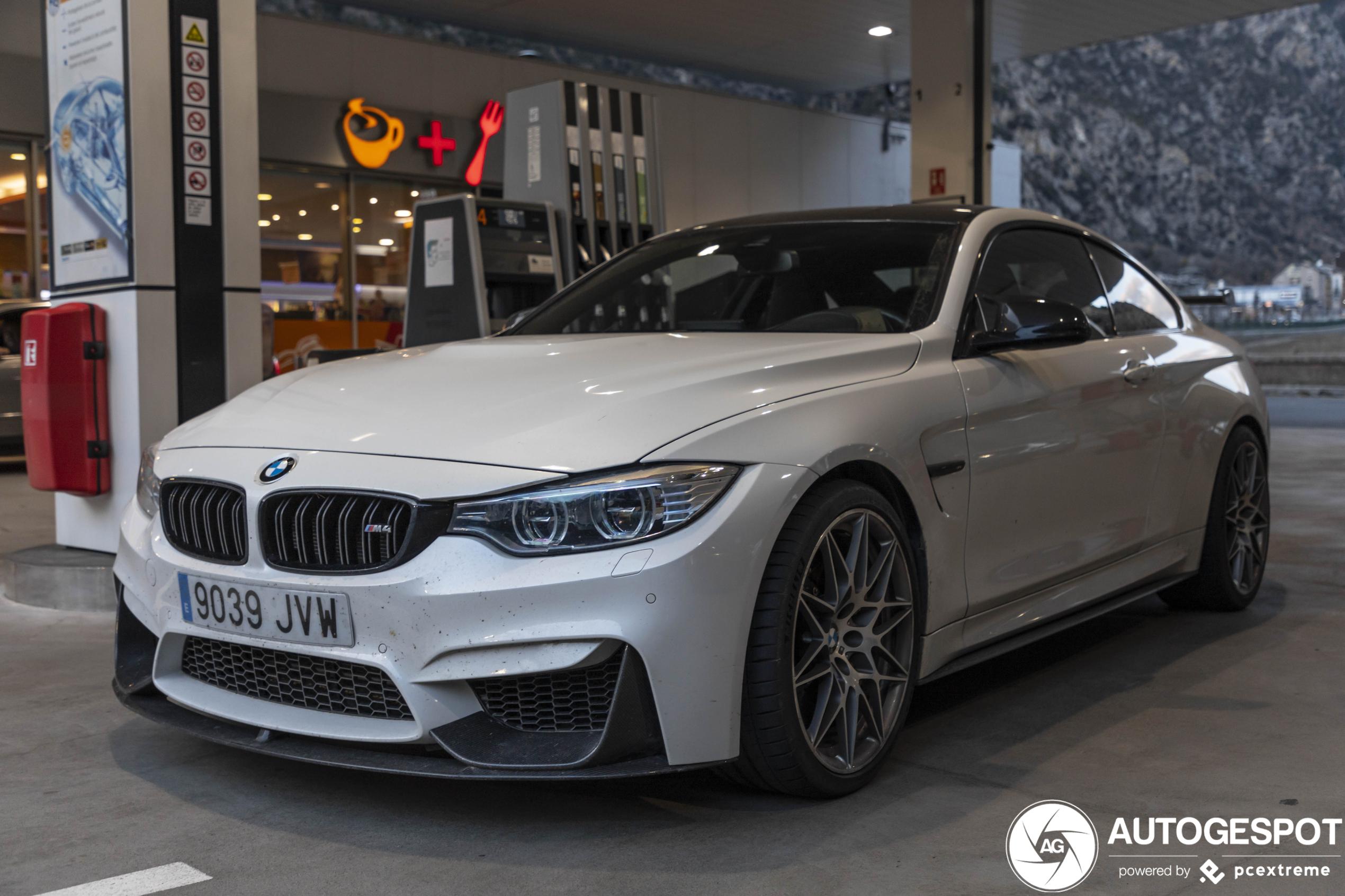 BMWM4 F82 CS