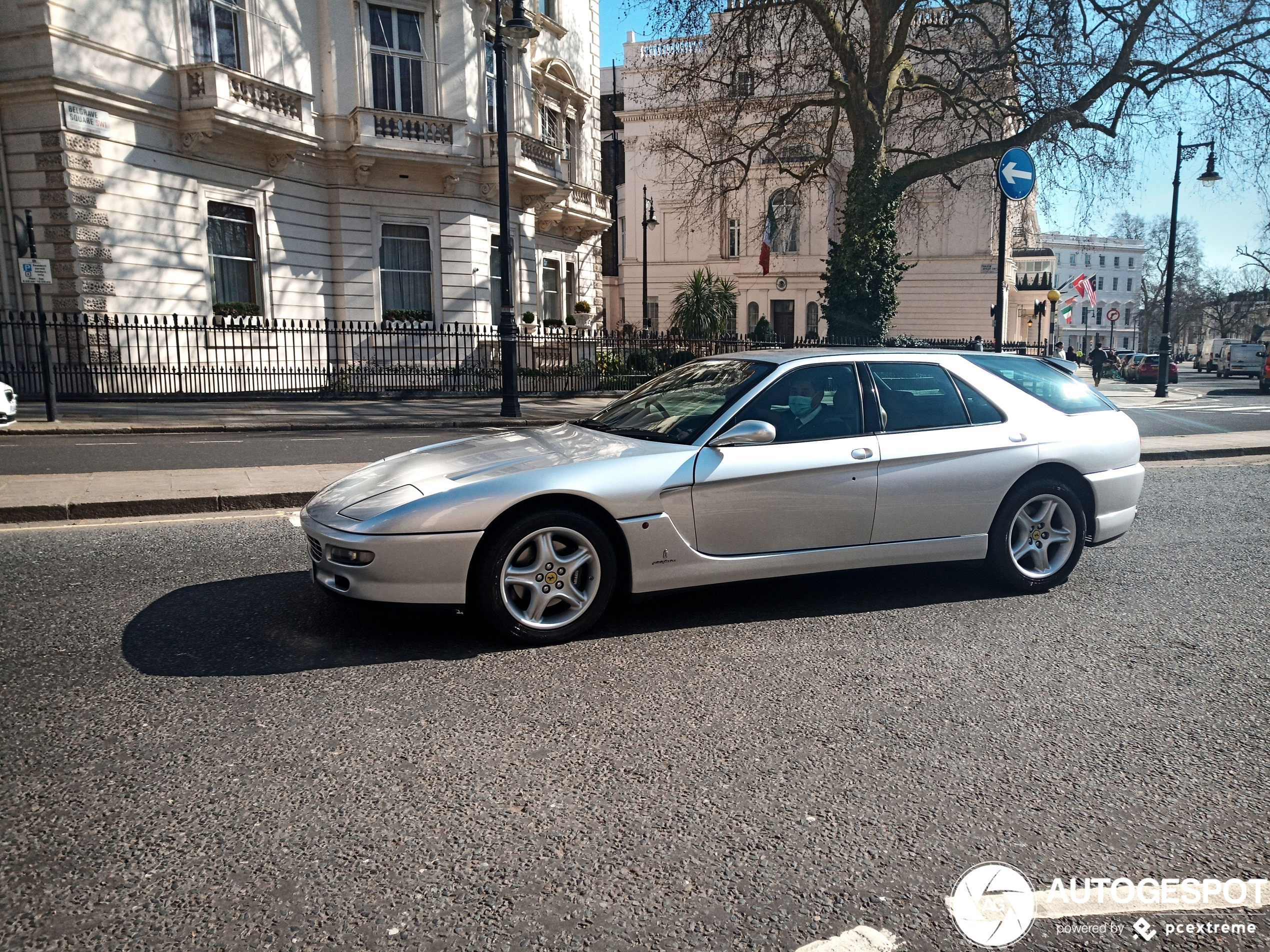 Ferrari 456 GT Venice is still driving around London