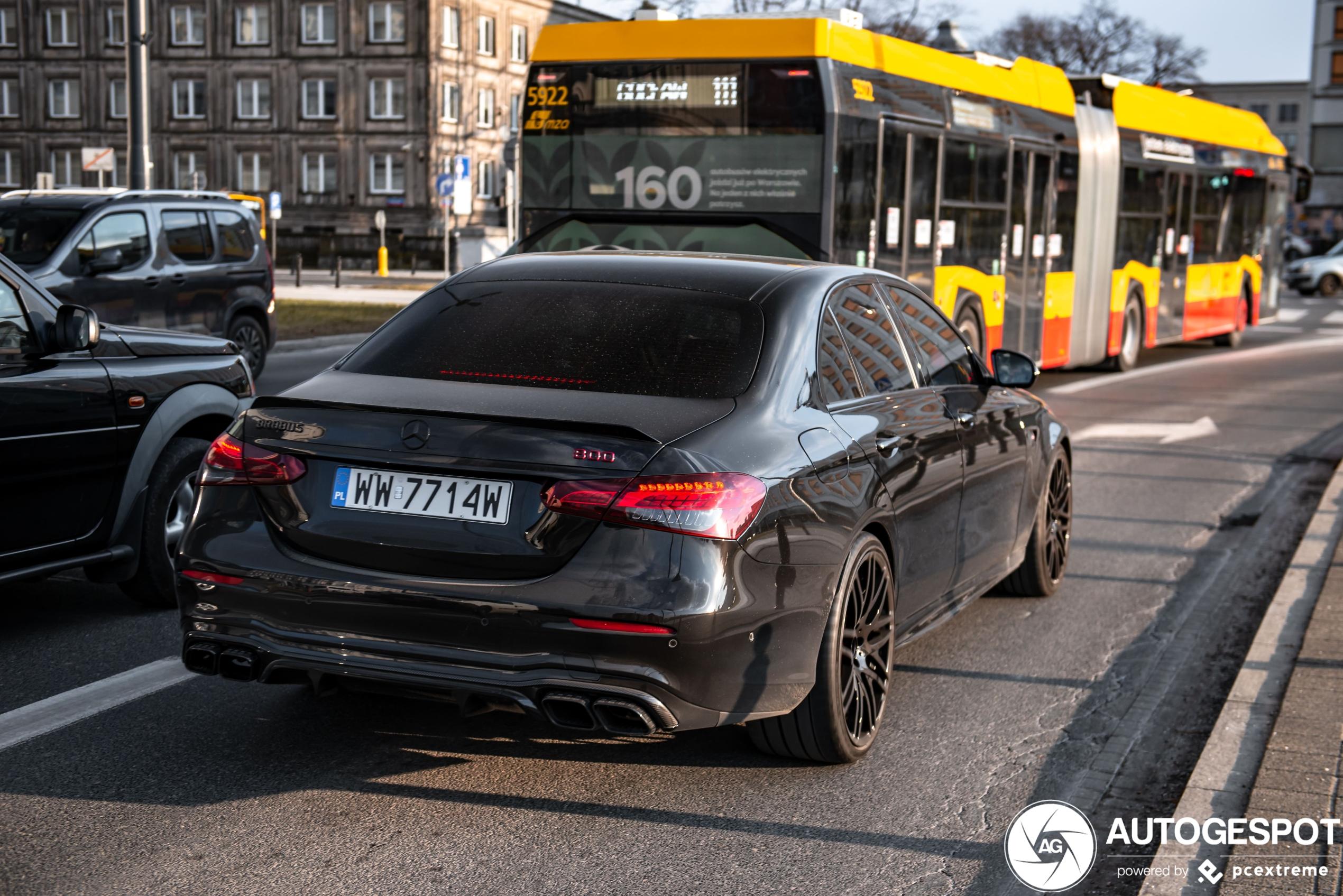 Nieuwe Mercedes-AMG E heeft al de Brabus behandeling gehad