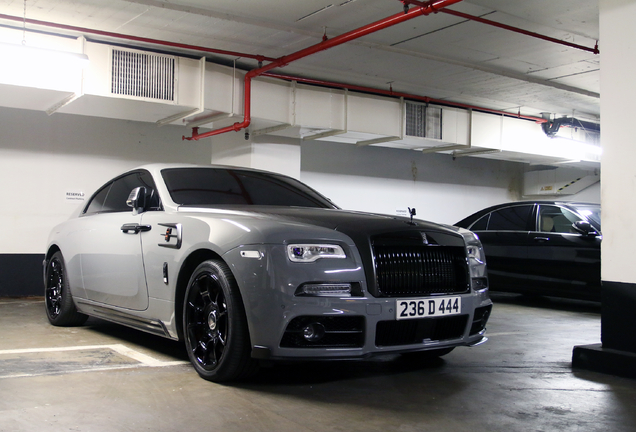 Rolls-Royce Mansory Wraith Black Badge