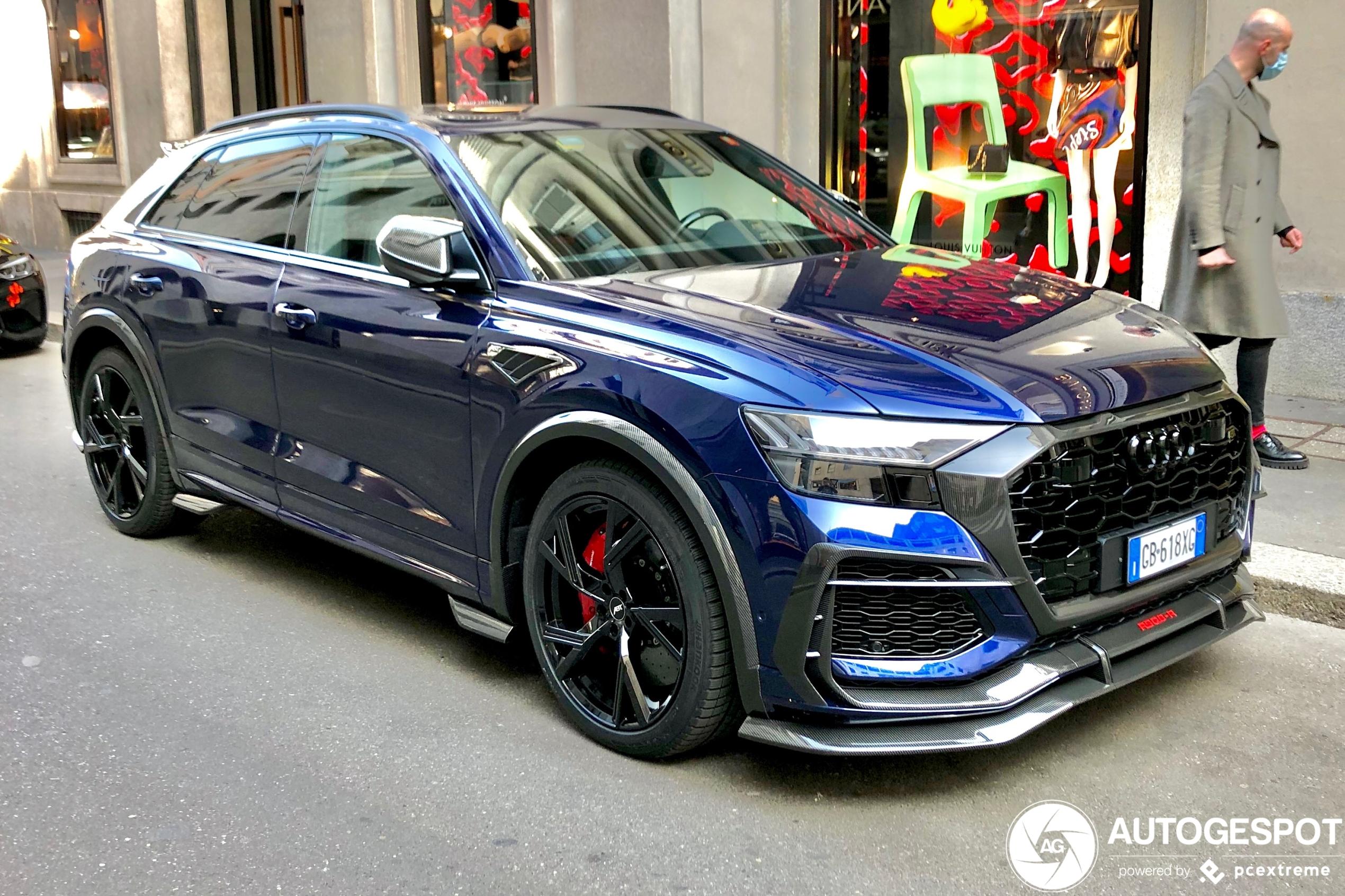 Audi ABT RS Q8-R ist noch nicht viel zu sehen