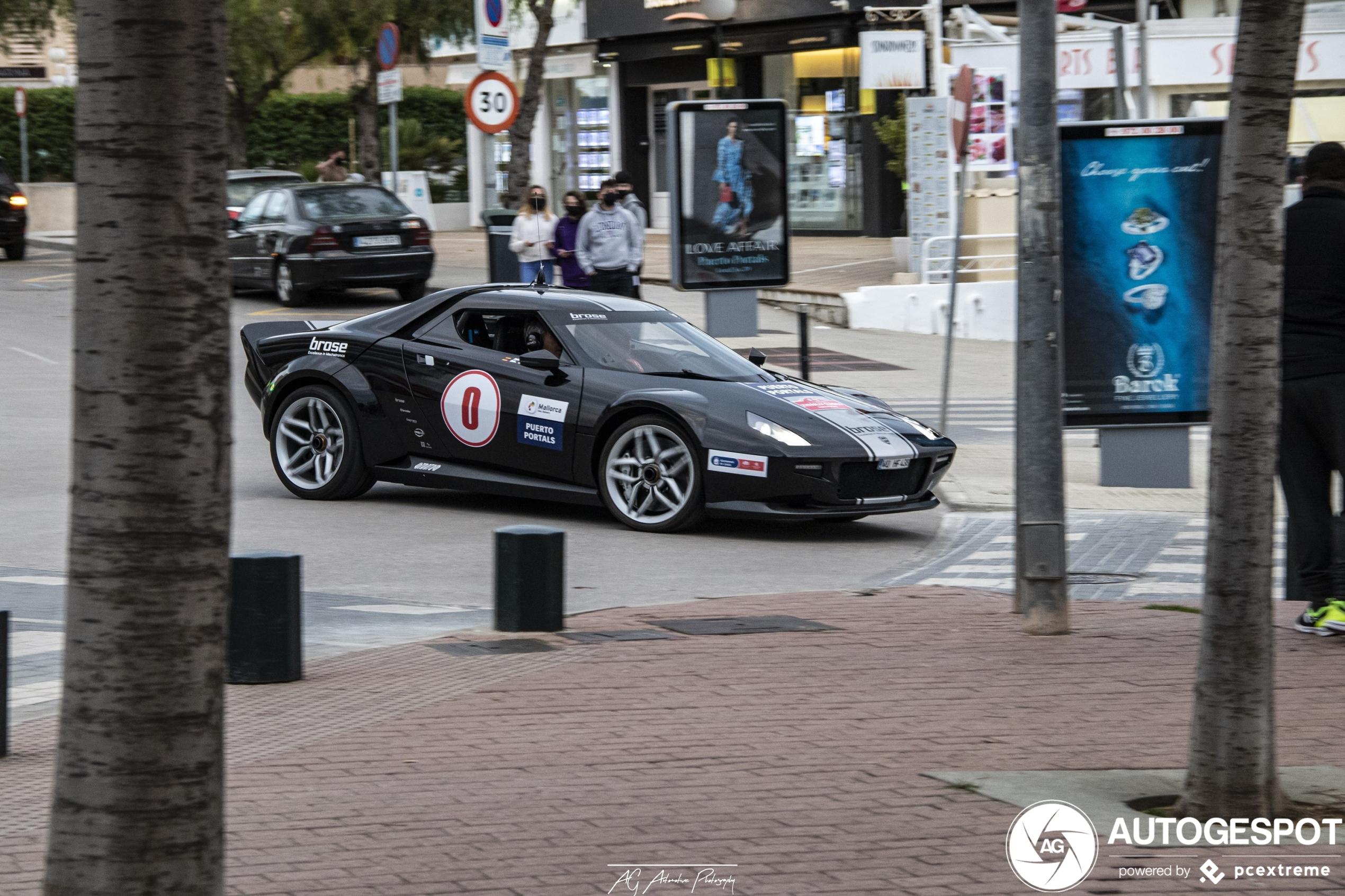 Lancia Stratos Prototype feiert nach zehn Jahren endlich sein Debüt auf Autogespot