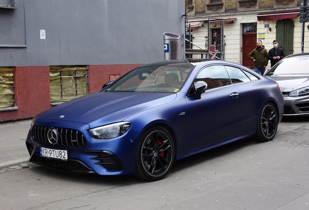 Mercedes-AMG E 53 Coupe 2021
