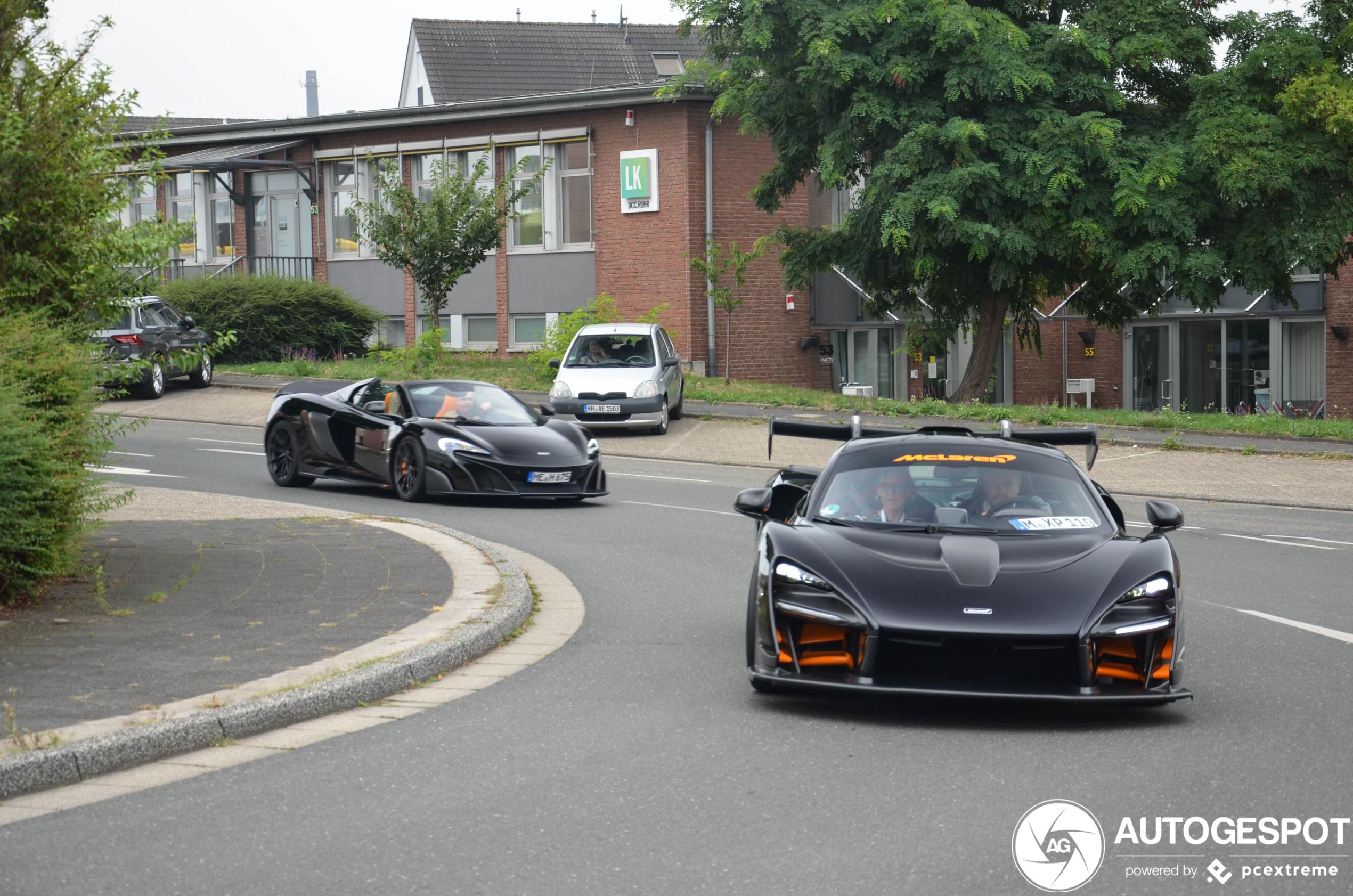 Gelimiteerd McLaren duo op pad in Velbert