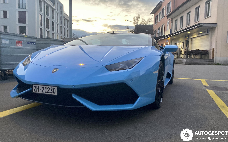 Lamborghini Huracán LP610-4 Spyder