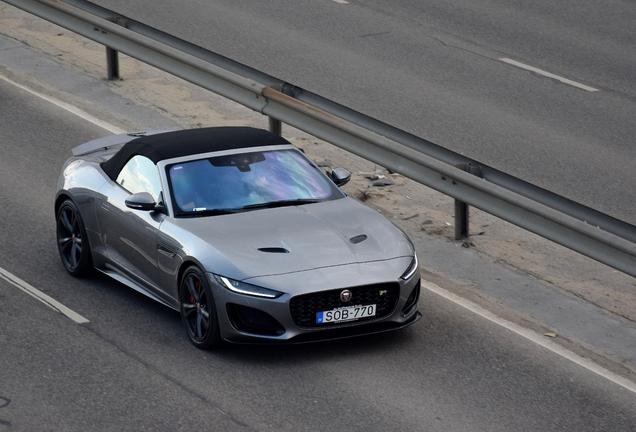Jaguar F-TYPE R Convertible 2020