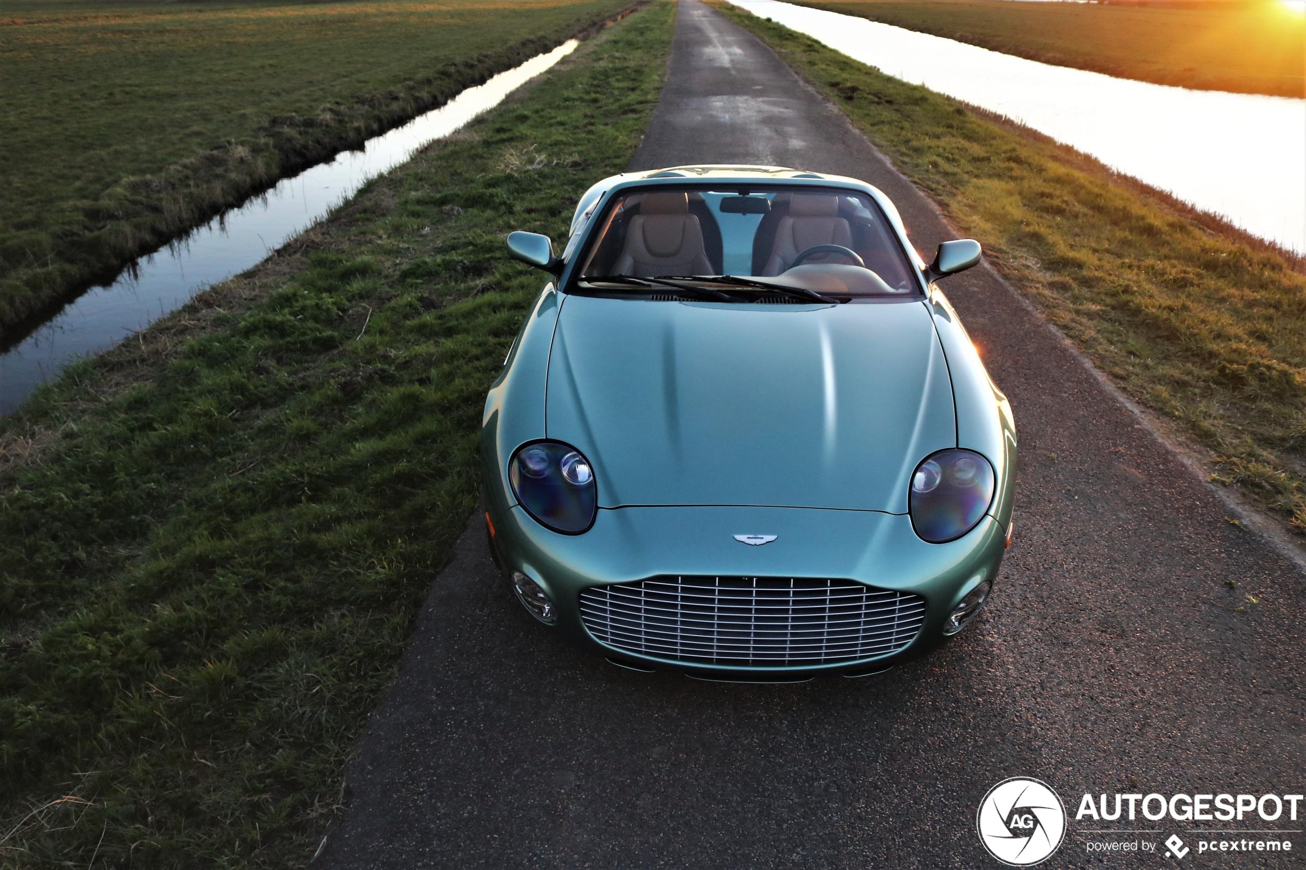Snoepje van Zagato: Aston Martin DB AR1