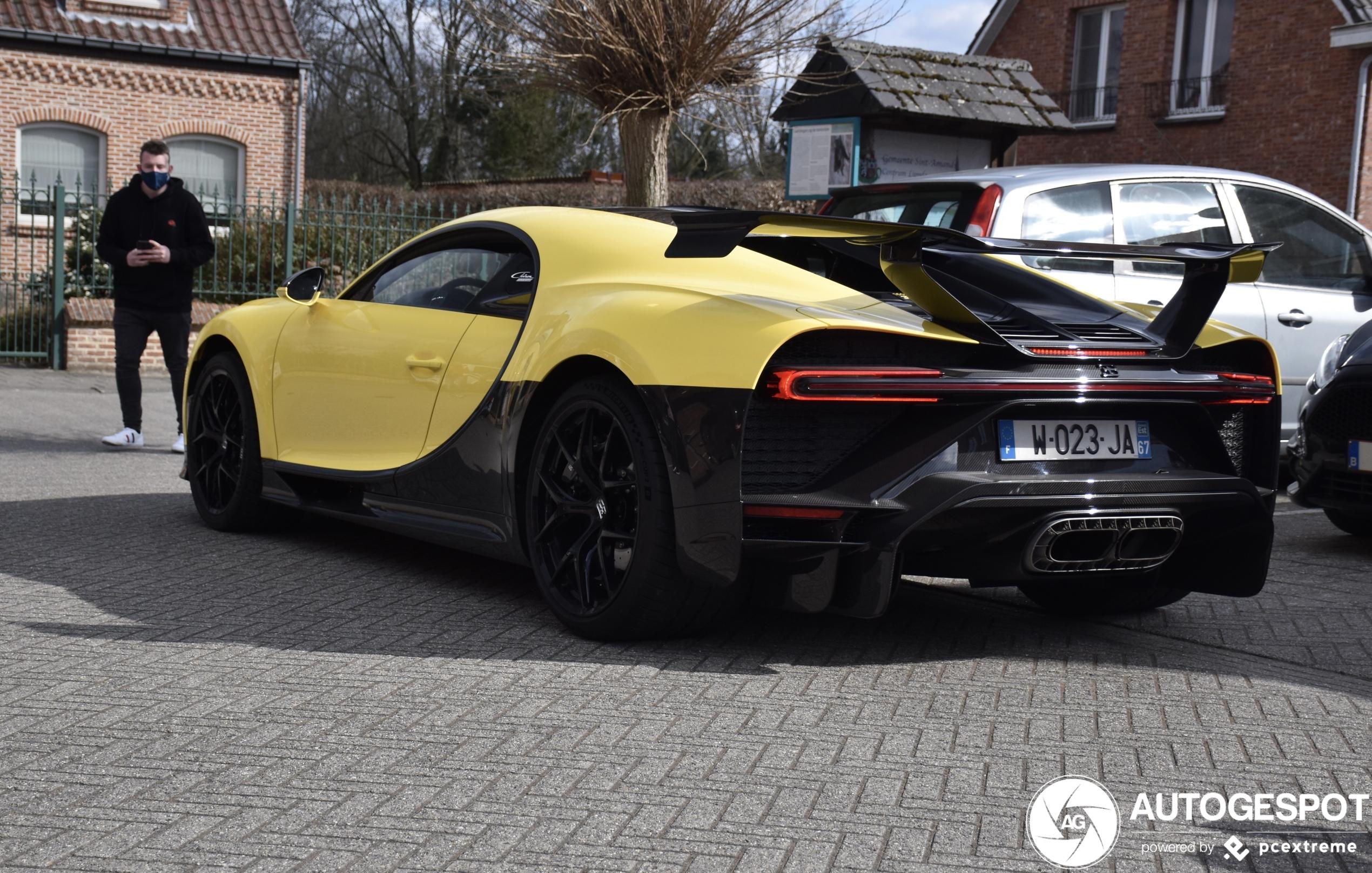 W16 geweld duikt op in België: Bugatti Chiron Pur Sport