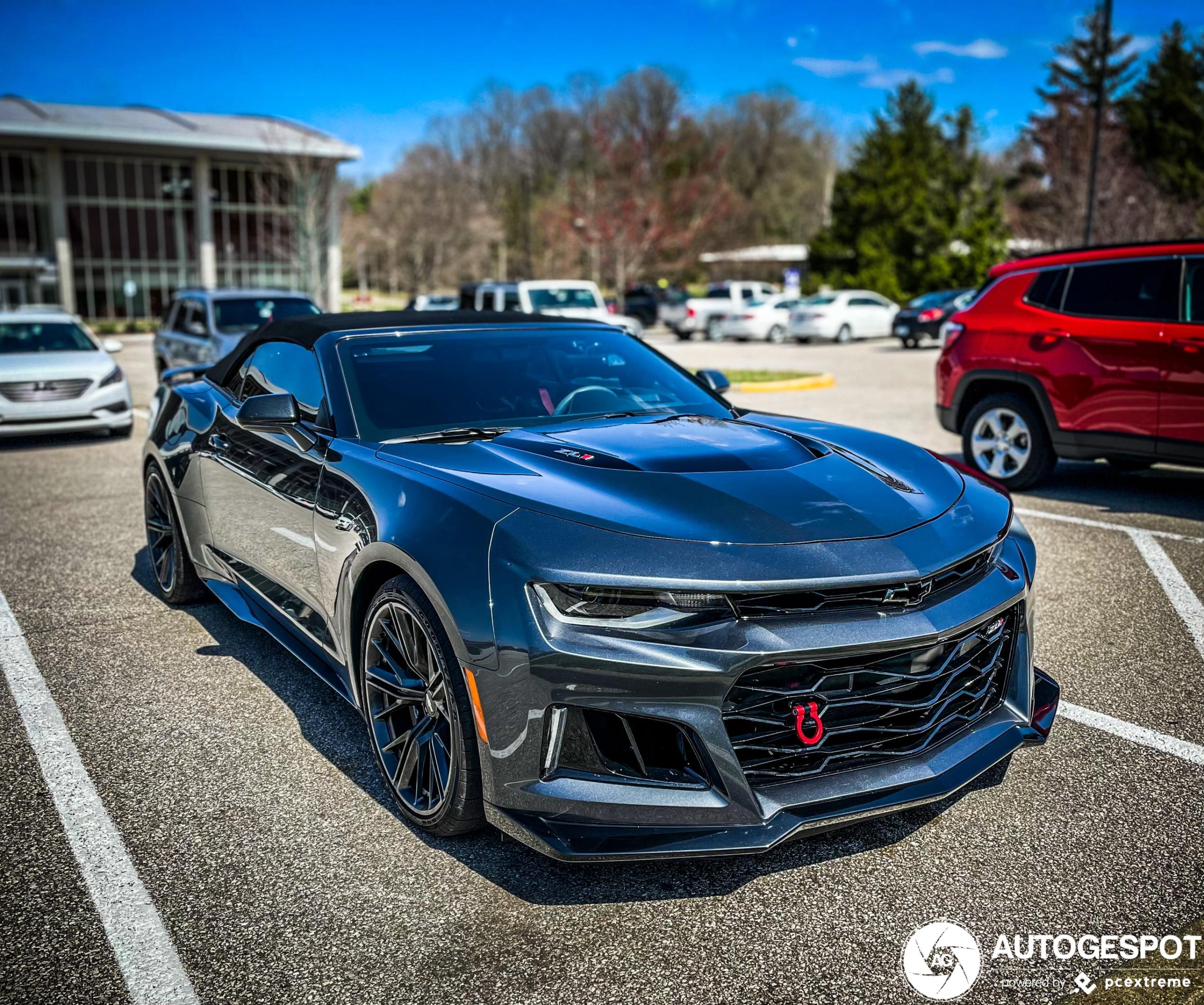 Chevrolet Camaro ZL1 Convertible 2020