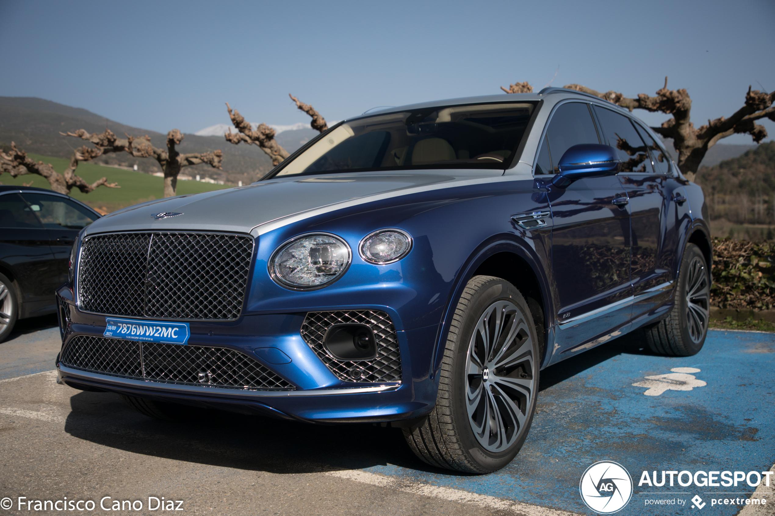 Bentley Bentayga V8 2021 First Edition