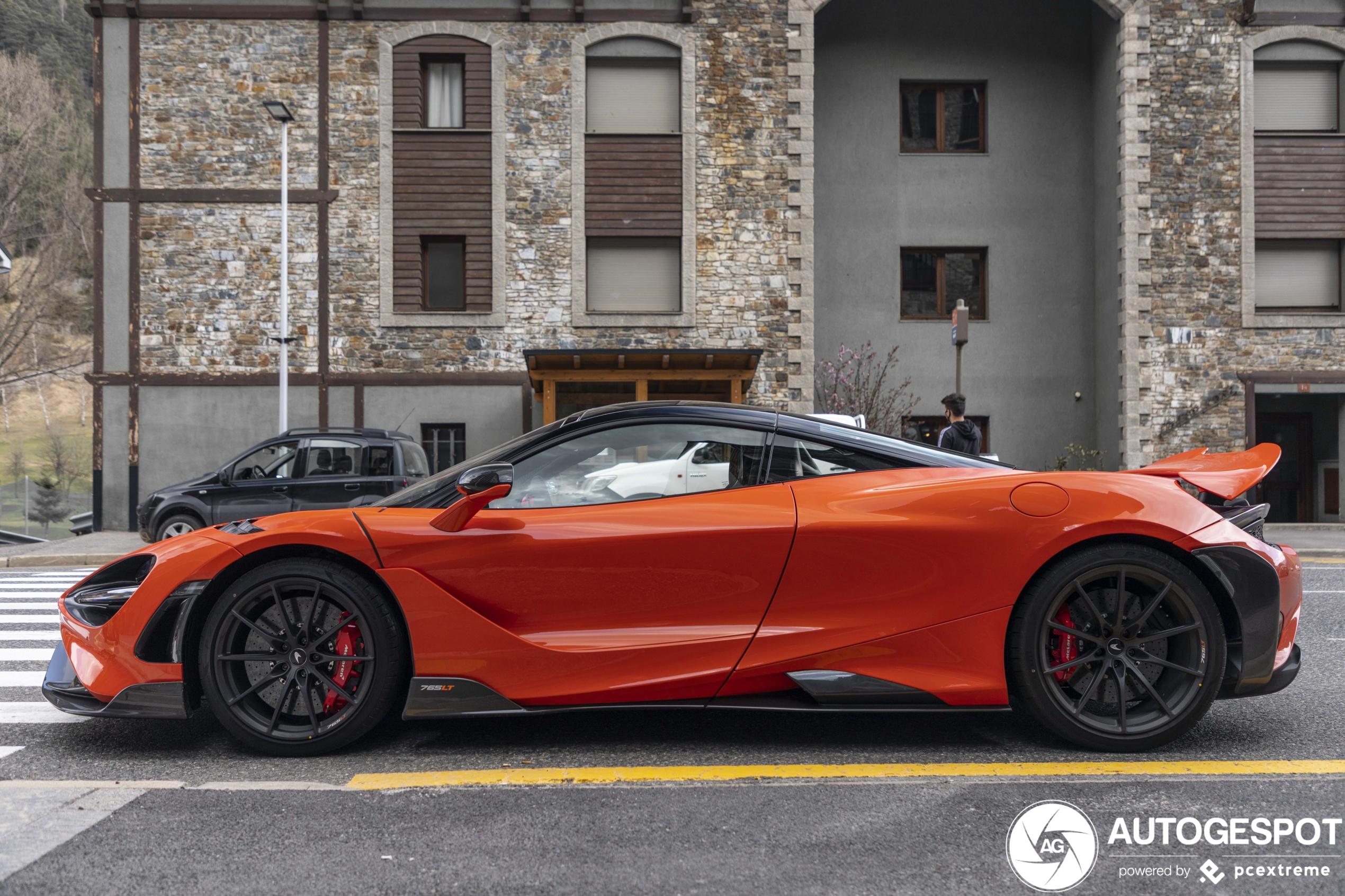 3x de McLaren 765LT