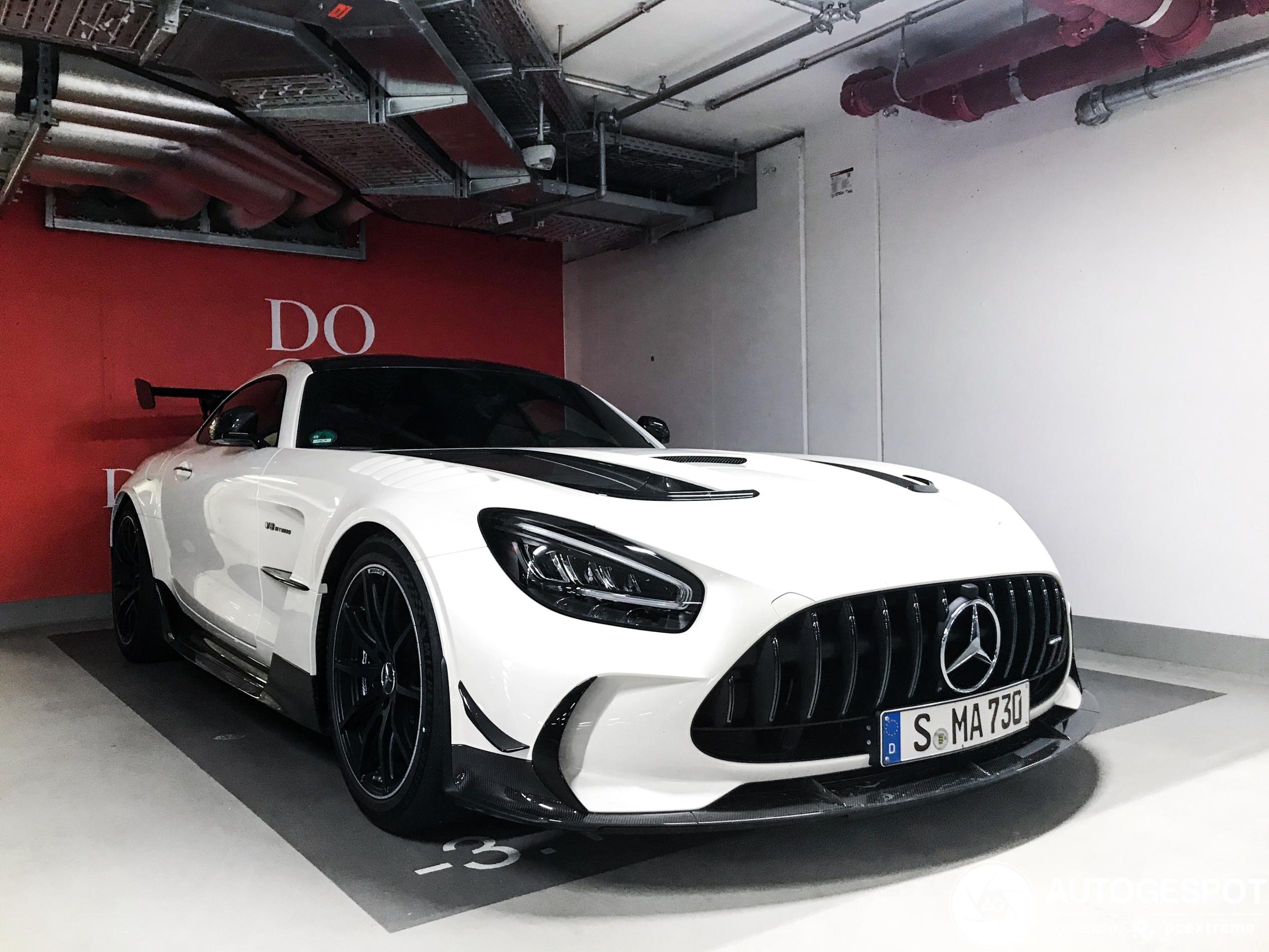 Mercedes-AMG GT Black Series wacht om uitgelaten te worden