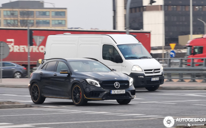 Mercedes-AMG GLA 45 X156 Yellow Night Edition