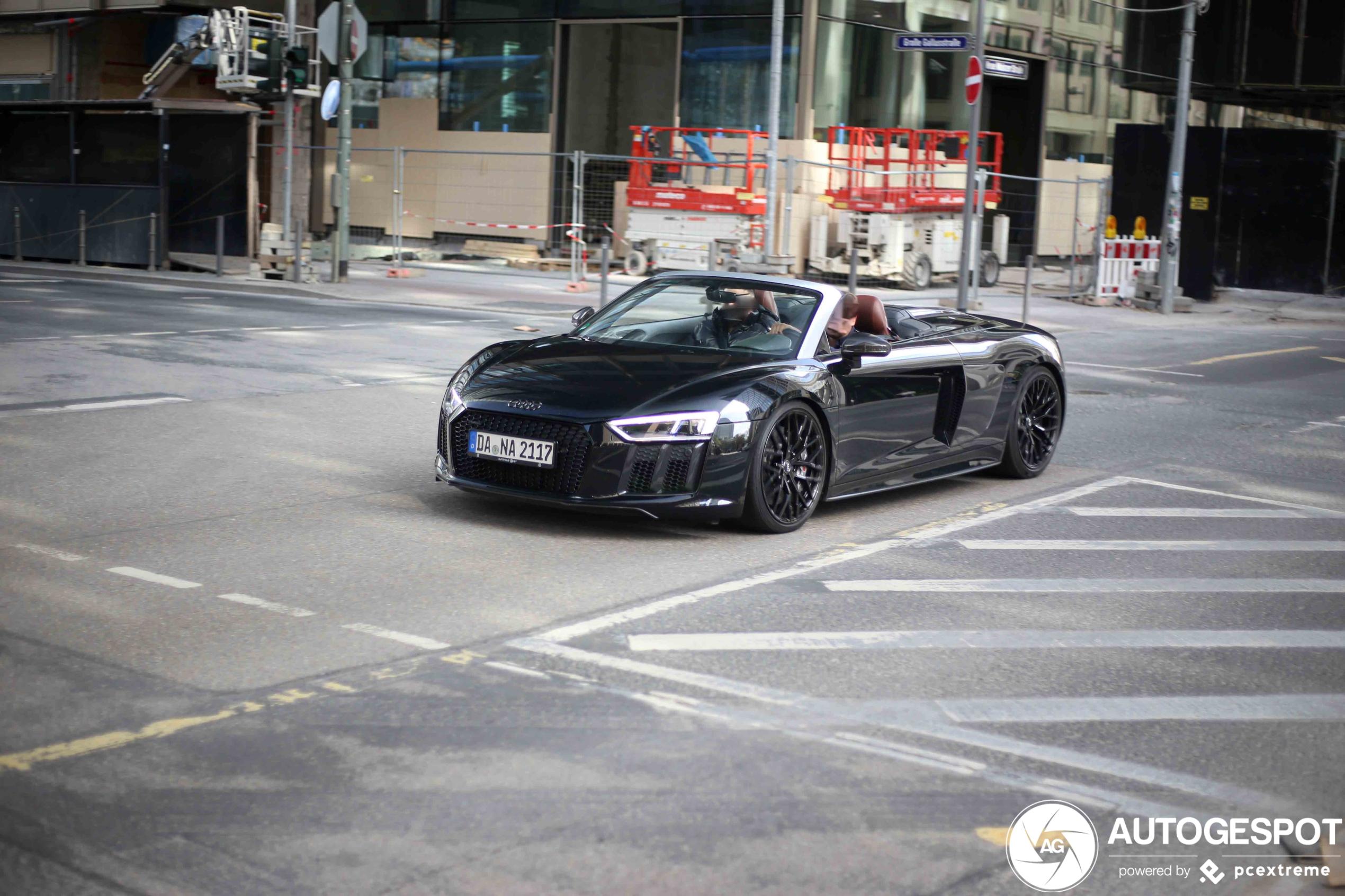 Audi R8 V10 Plus Spyder 2017