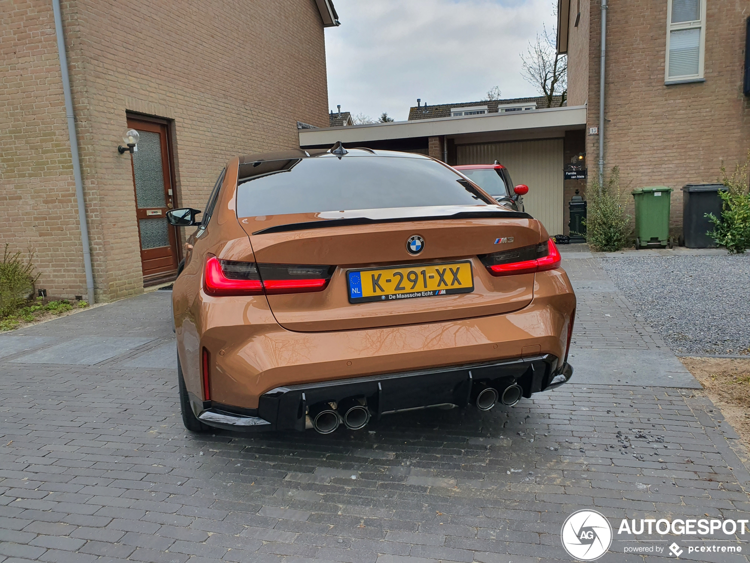 BMW M3 G80 in Zanzibar Metallic is prachtig