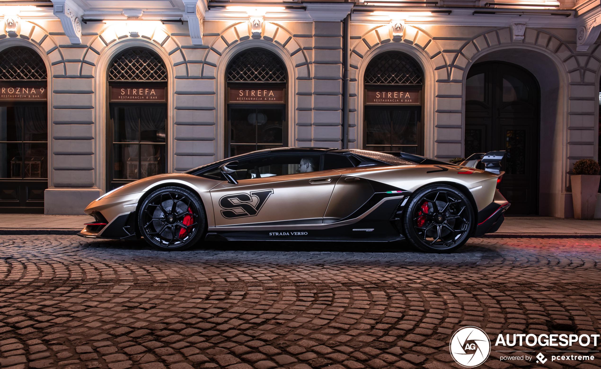 Lamborghini is nog niet klaar met de Aventador SVJ