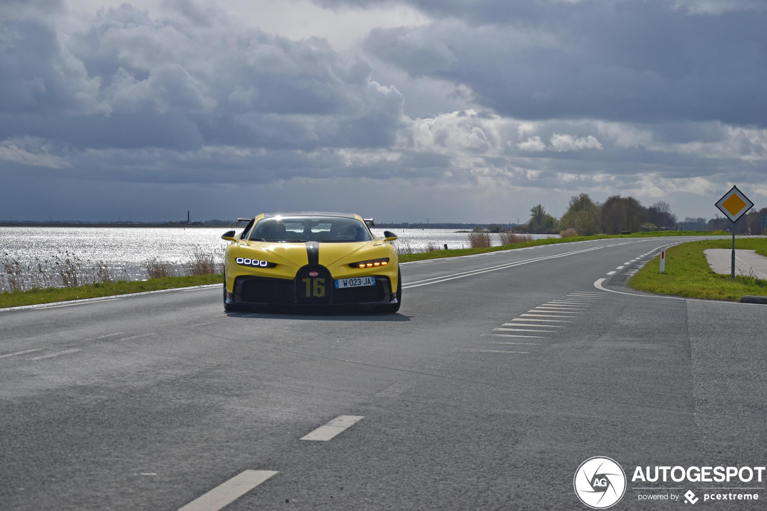 Bugatti Chiron Pur Sport duikt nu ook op in Nederland