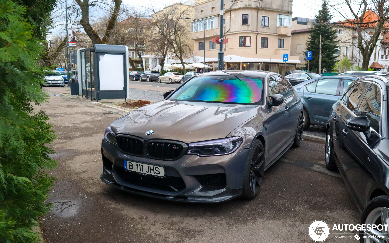BMW M5 F90 Competition Racebox