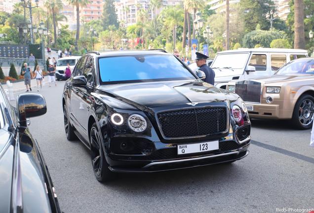 Bentley Bentayga Black Edition