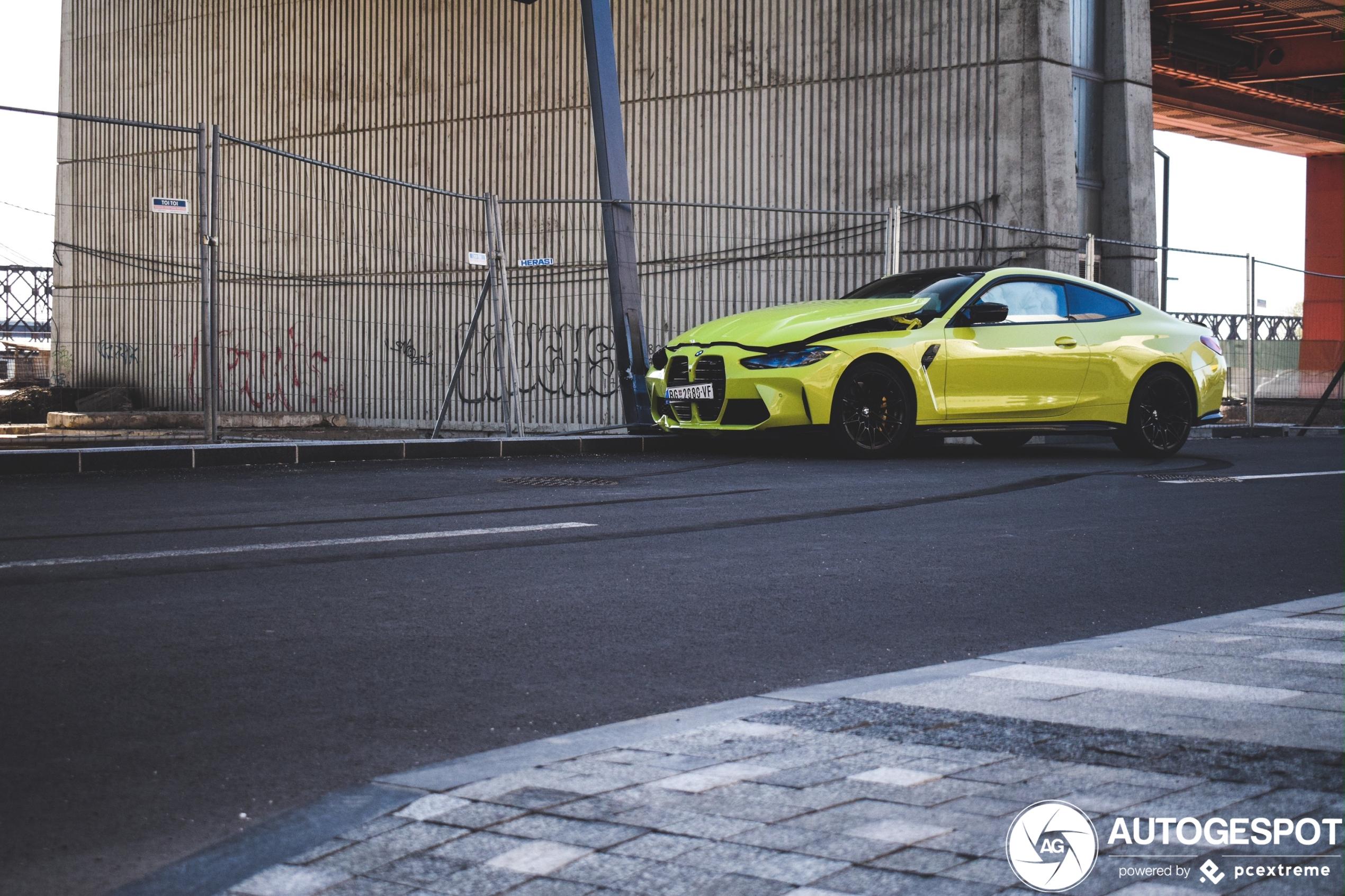 Ouch! BMW M4 Coupé heeft geen strak neusje meer