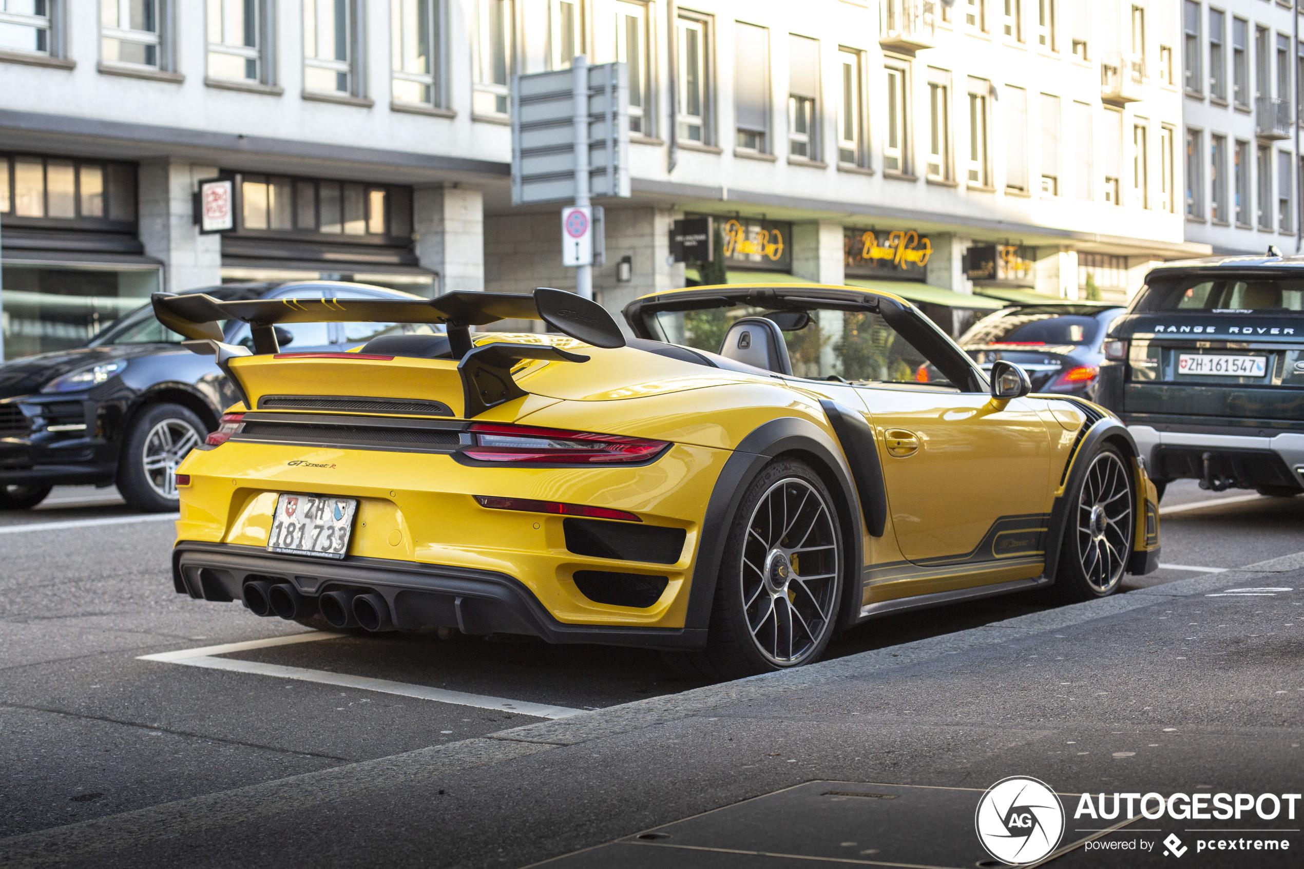 Porsche991 Techart GT Street R Cabriolet