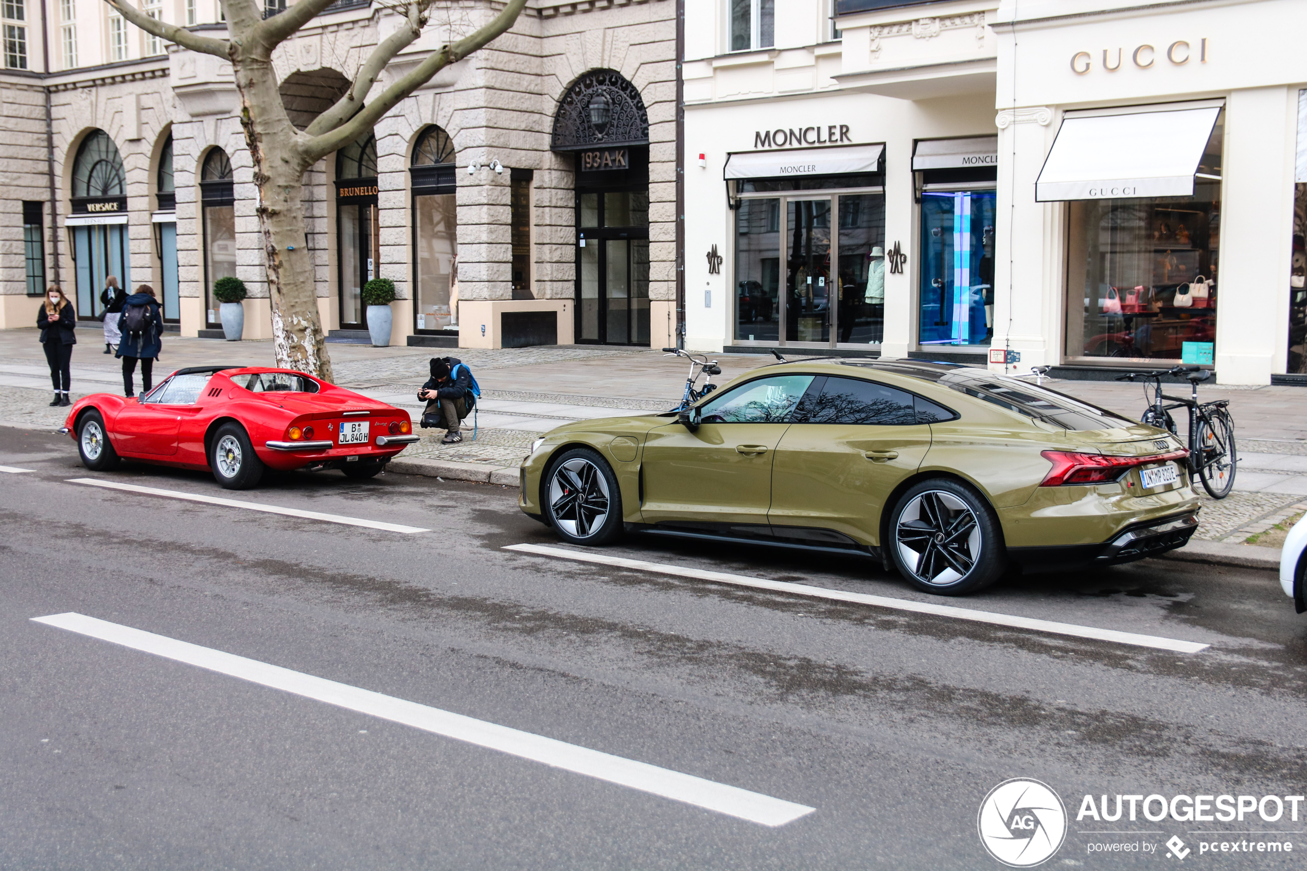 Audi RS E-Tron GT is een lekkere elektrische bolide