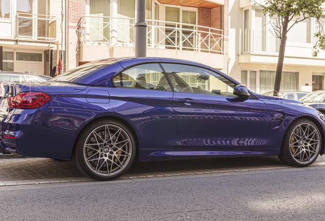 BMW M4 F83 Convertible 2017