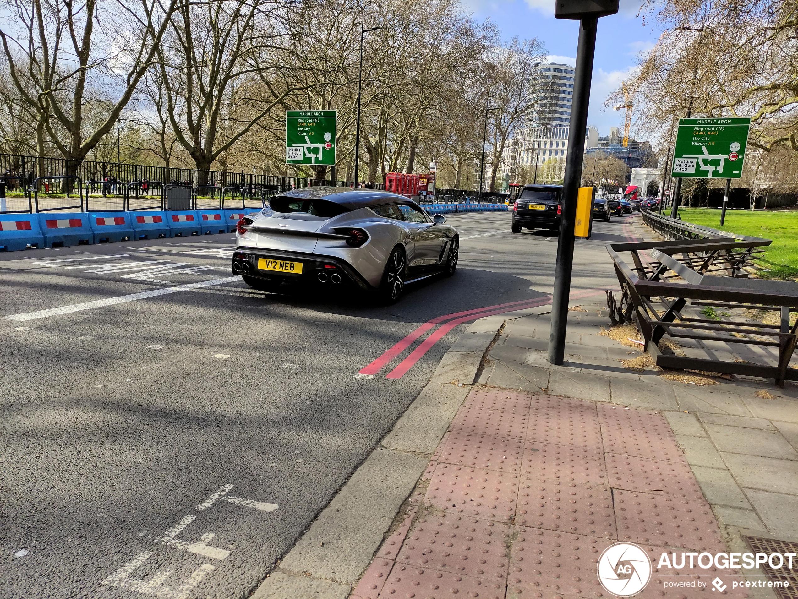 We hebben weer een nieuwe Aston Martin Vanquish Zagato Shooting Brake