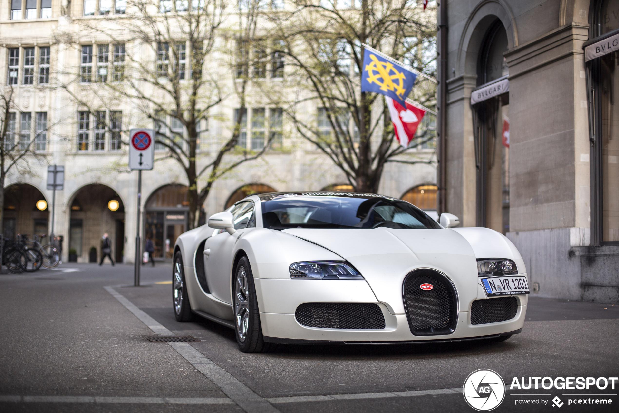BugattiVeyron 16.4 Grand Sport Sang Blanc