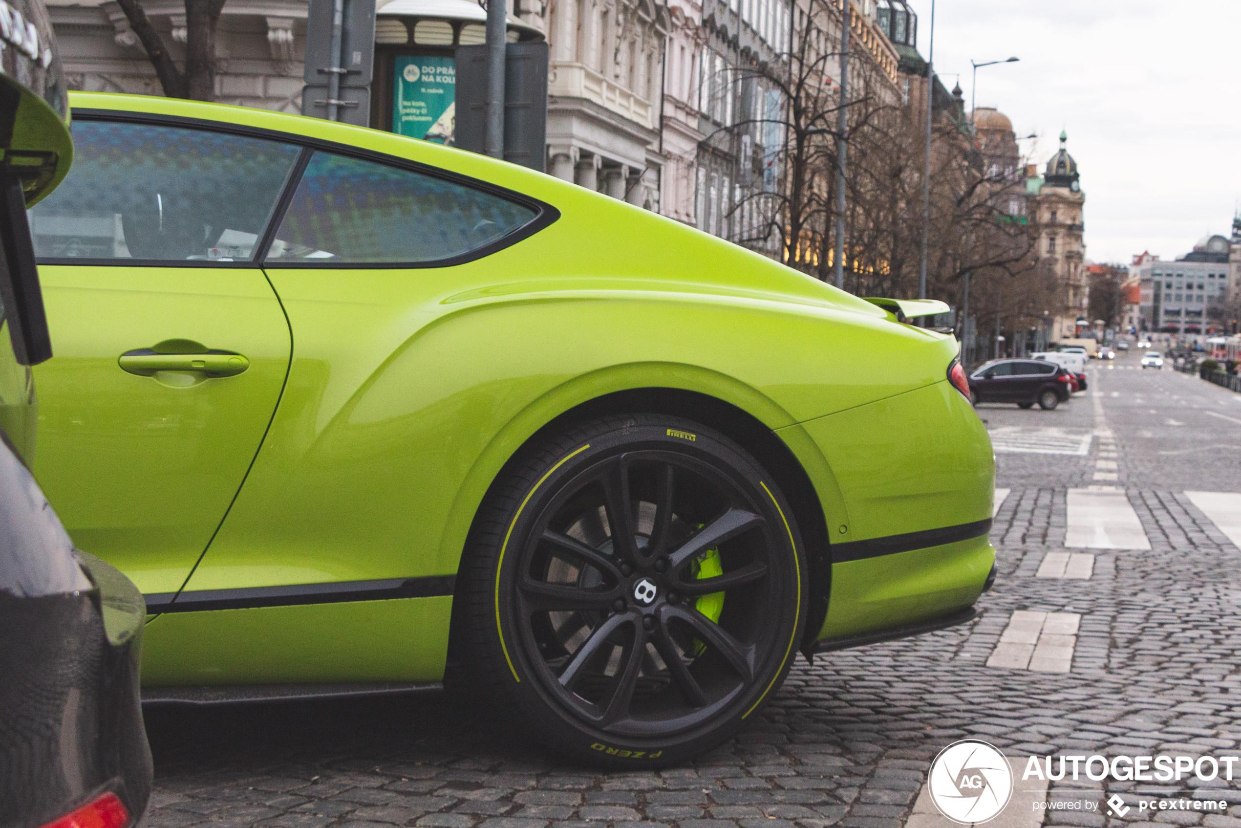 Primeur gespot: Bentley Pikes Peak Continental GT