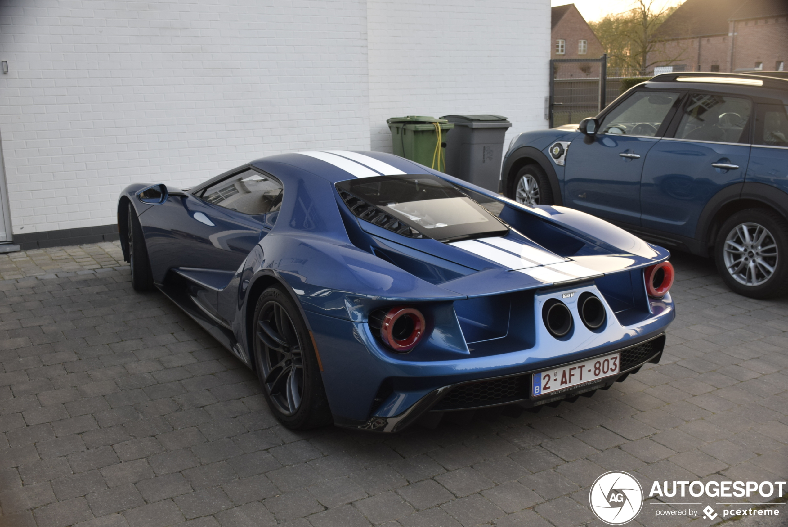 Ford GT steelt de show in België