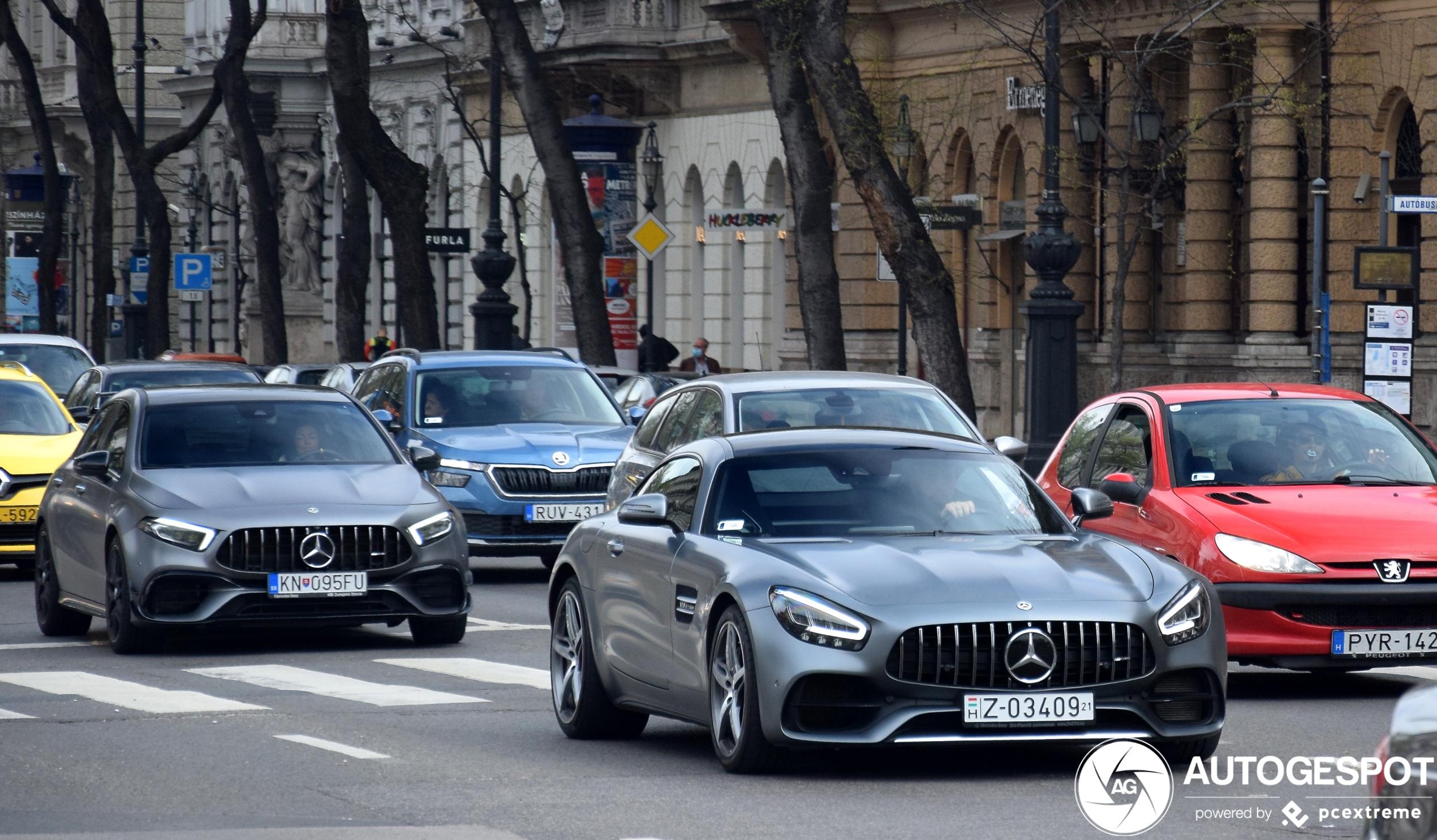 Mercedes-AMG GT C190 2019