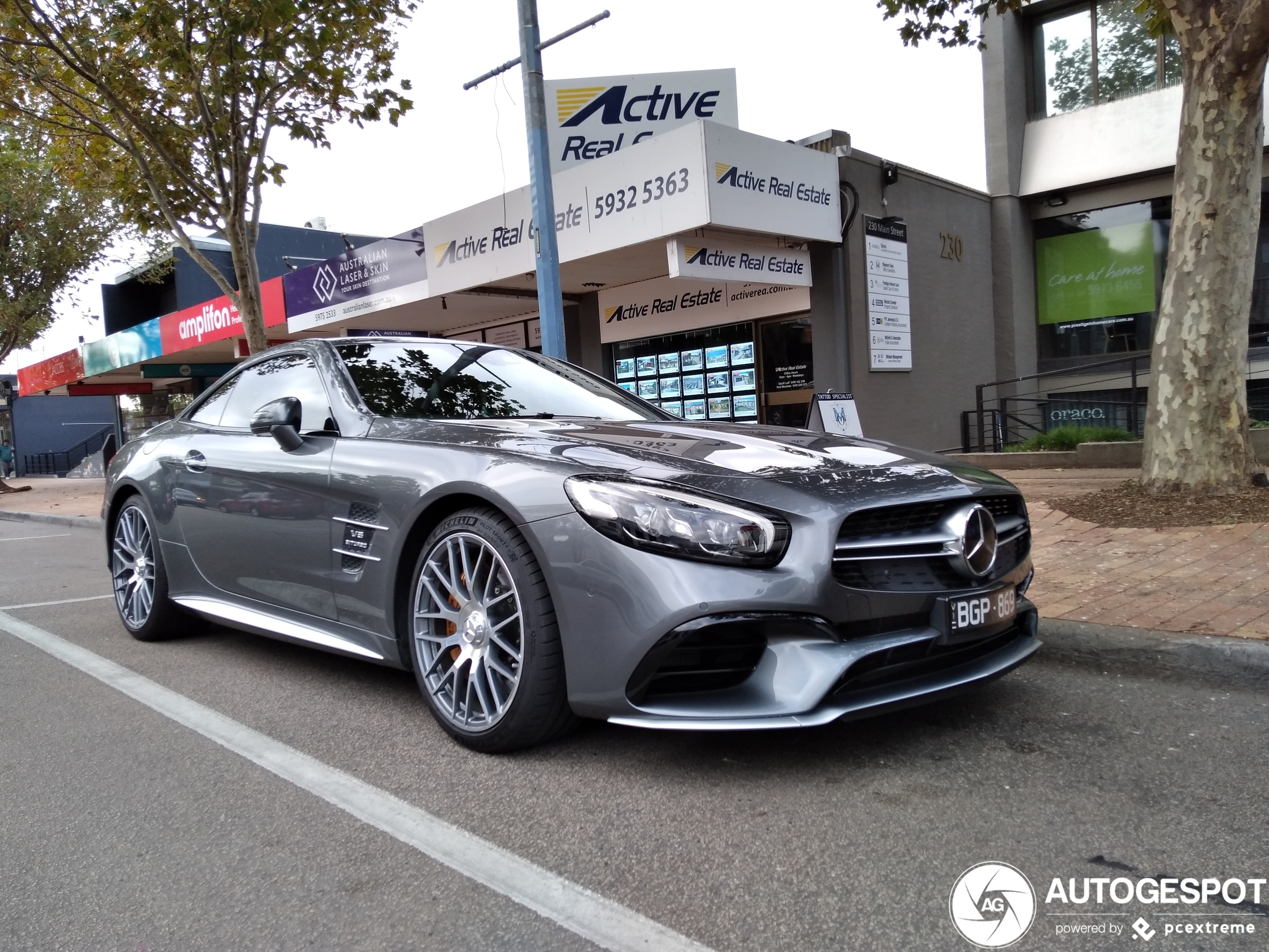 Mercedes-AMGSL 63 R231 2016