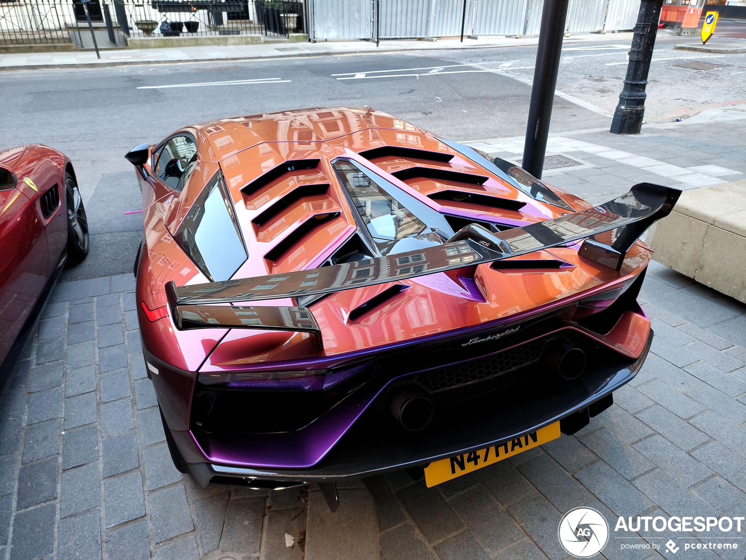 We hebben weer een rondje nieuwe Lamborghini Aventador LP770-4 SVJ
