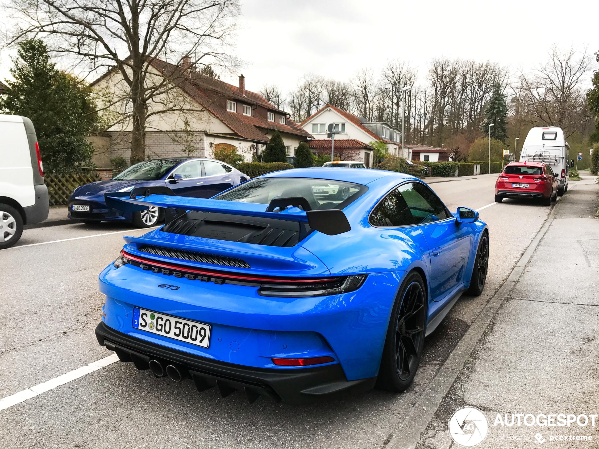 Op straat: Porsche 992 GT3