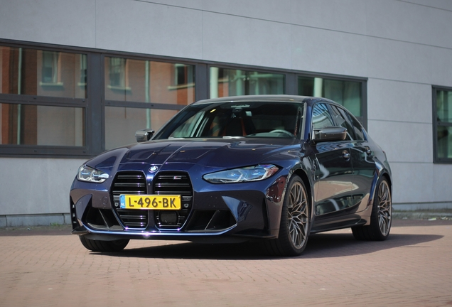 BMW M3 G80 Sedan Competition