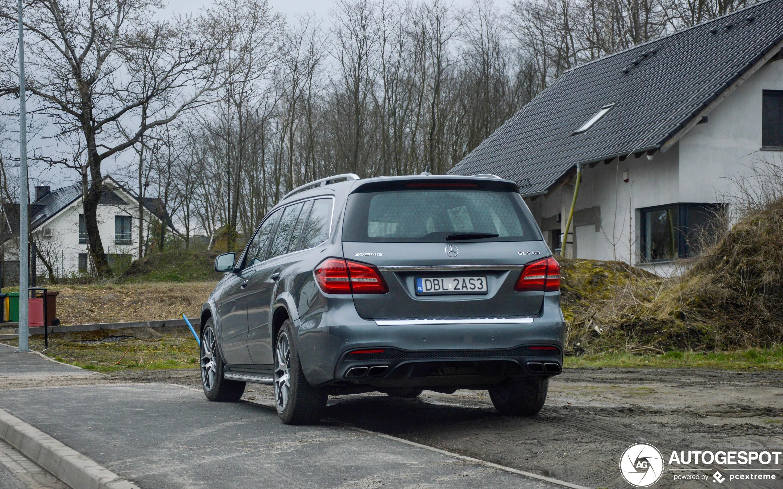 Mercedes-AMG GLS 63 X166