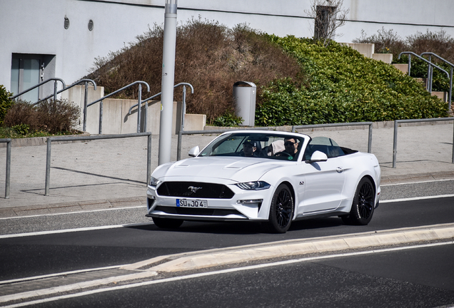 Ford Mustang GT Convertible 2018