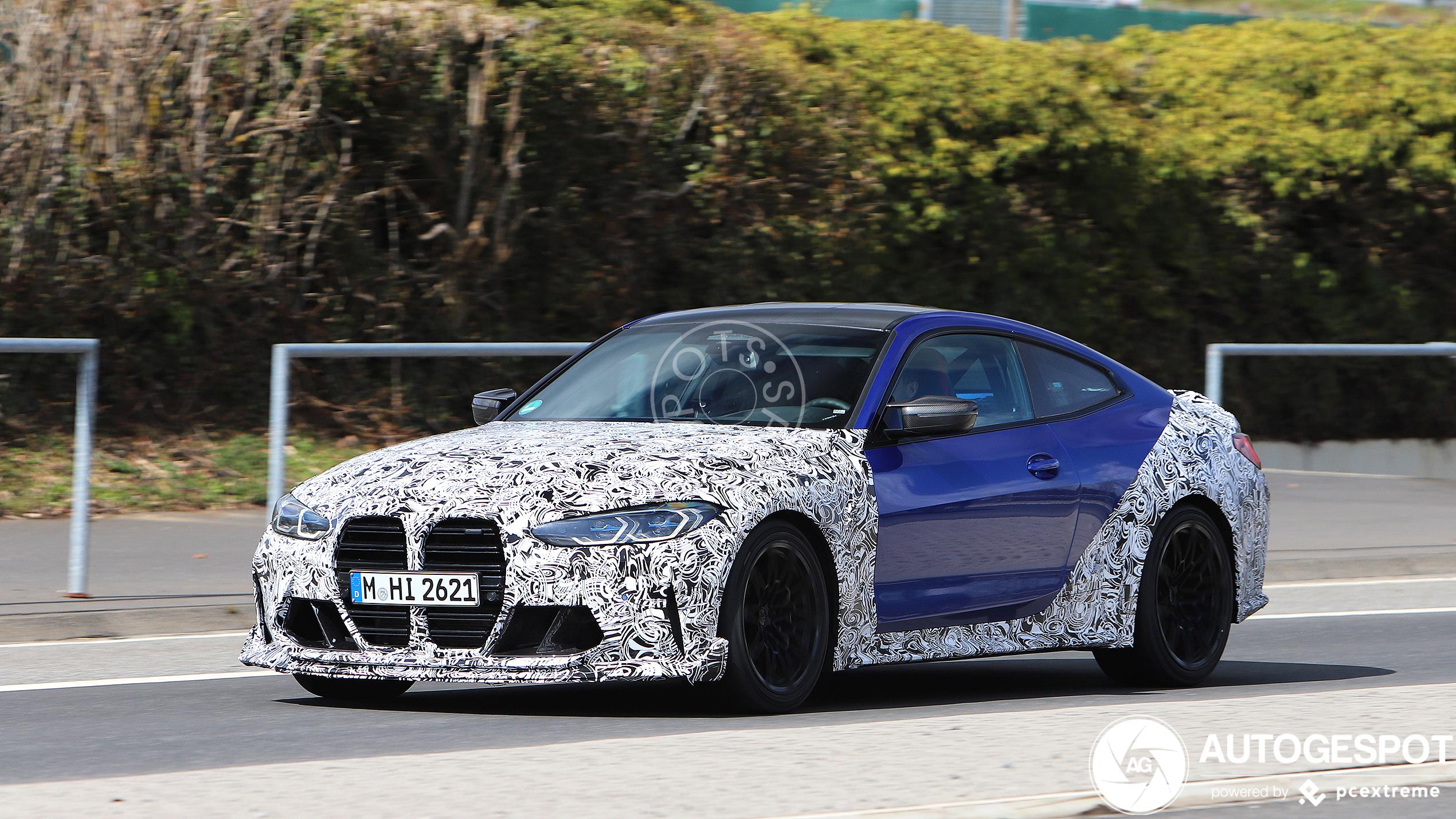 BMW M4 CSL laat een beetje kleur zien