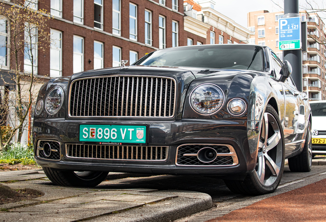 Bentley Mulsanne Speed 2019
