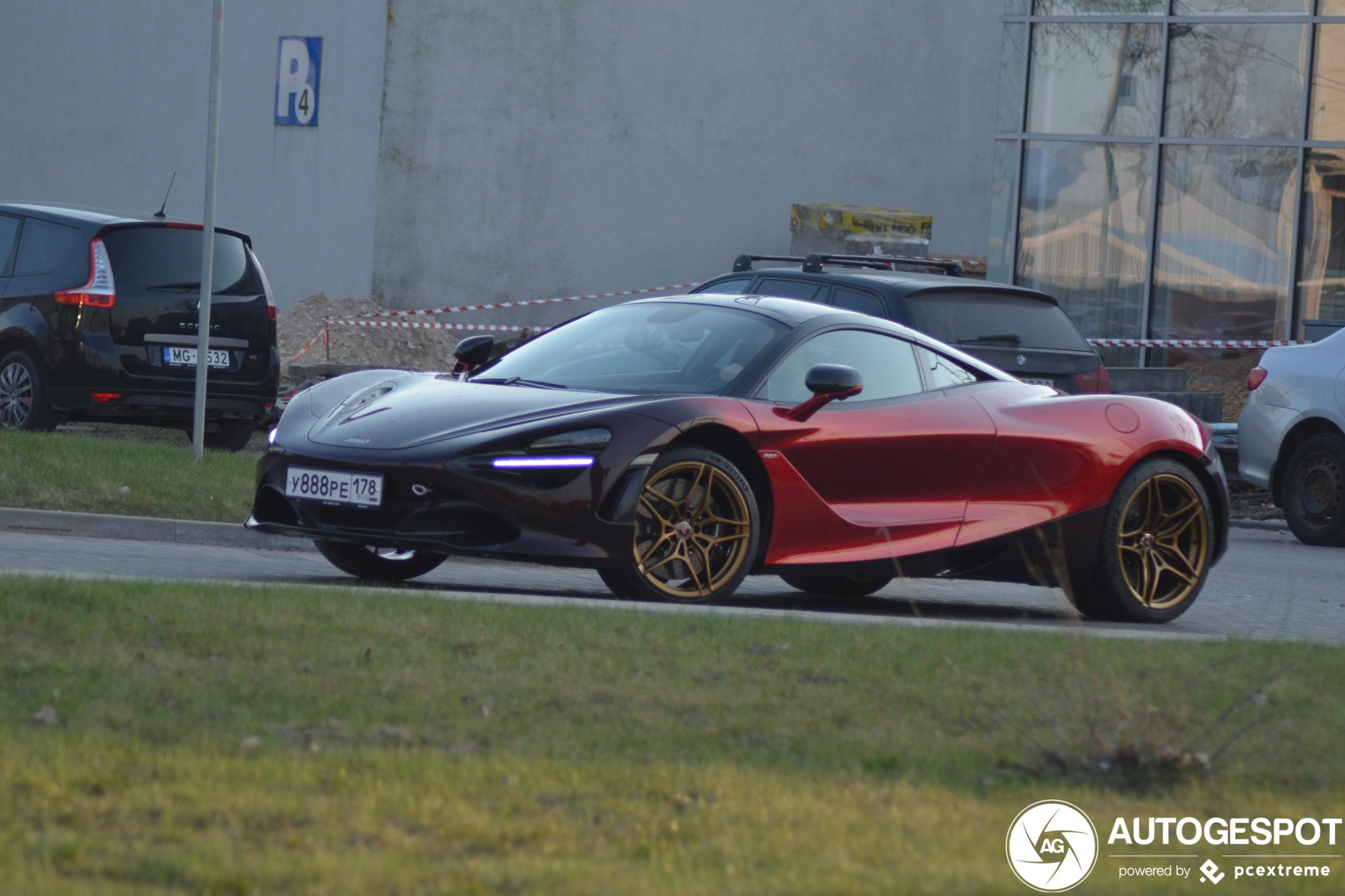 McLaren 720S Velocity Edition blijft stoer