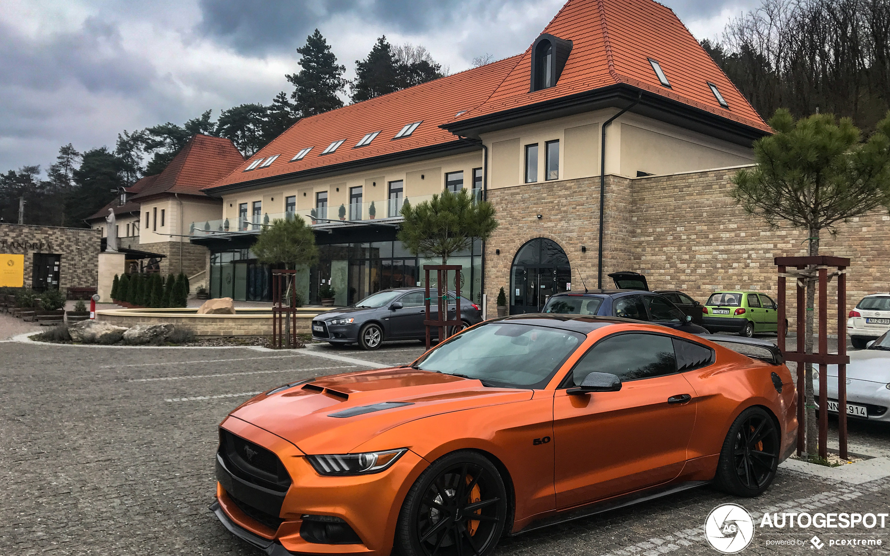 Ford Mustang GT 2015 DF Tuning