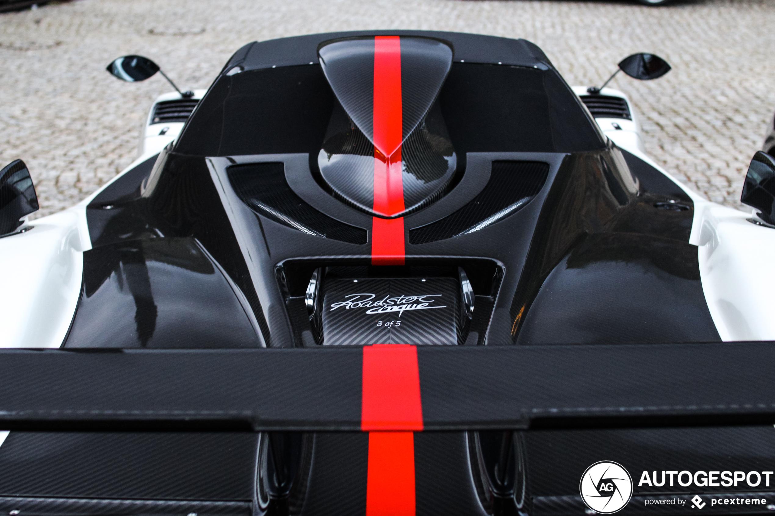 Pagani Zonda Cinque Roadster is gewisseld van eigenaar