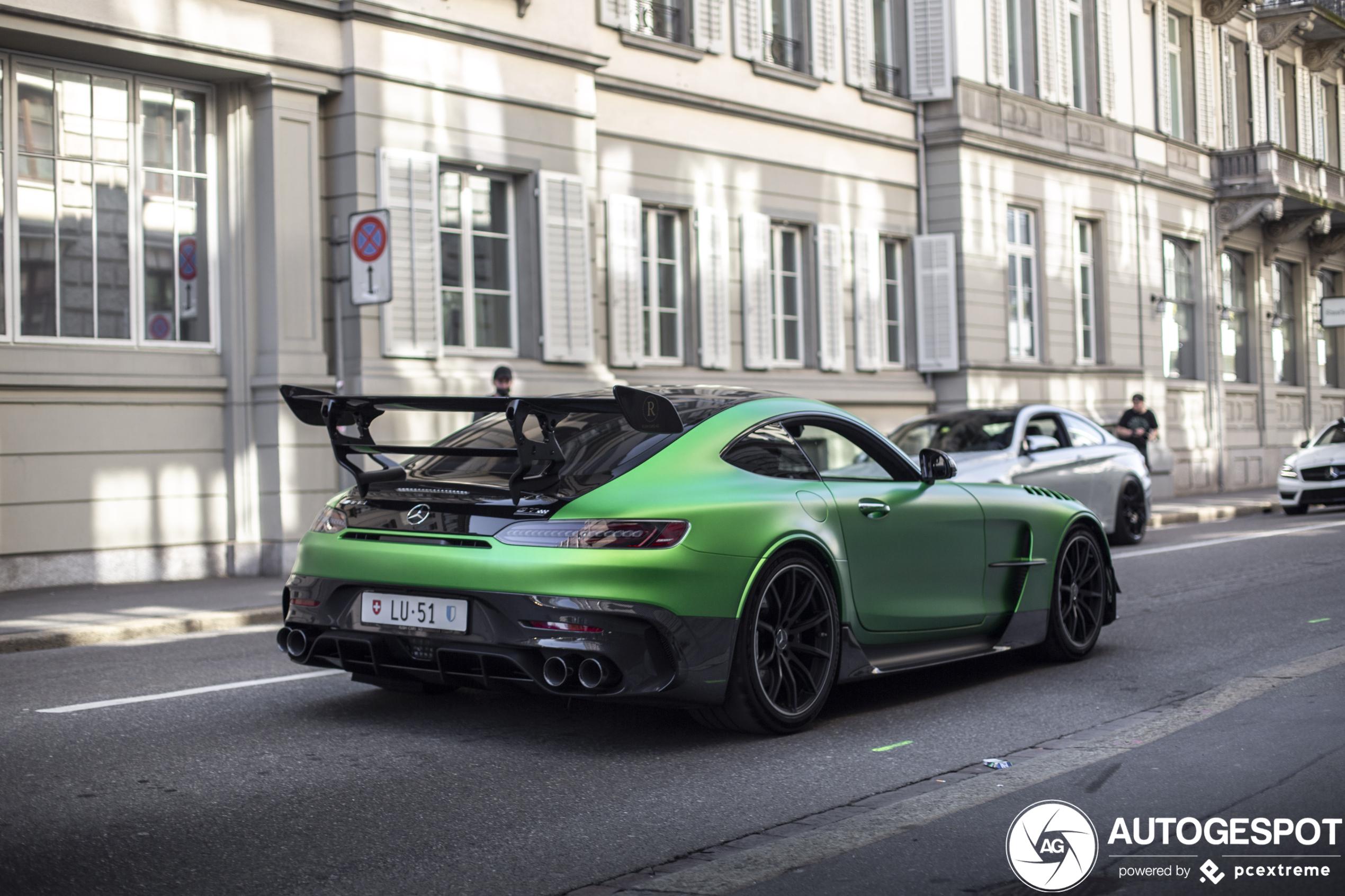 Green Hell Magno kan ook op de Mercedes-AMG GT Black Series