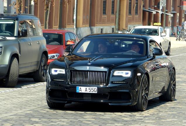 Rolls-Royce Wraith Black Badge Spofec