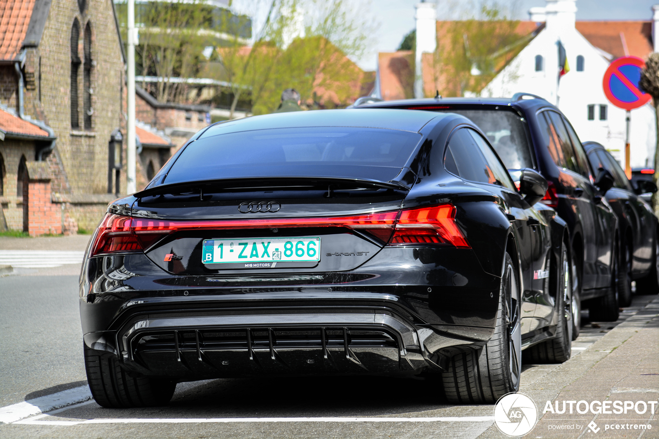 Audi RS E-Tron GT hoopt op aandacht in Knokke-Heist